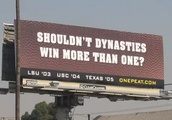 Louisianans really love planting spiteful billboards in rival territory