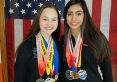 Baranek: Shepard students Gia Swanson and Jenna Bader ready for world synchronized skating stage