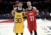 Curry brothers are placing a potentially-expensive wager on Saturday's 3-point competition