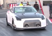 Watch This Impossibly Quick Nissan GT-R Break a Quarter-Mile Record