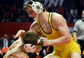Wrestling notes: Carmel's Riley Palm repeats as 2A wrestling champion