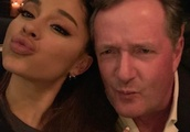 Ariana Grande and Piers Morgan Finally Put Their Feud to Rest