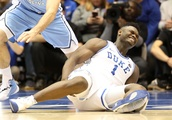 Nike Stock Falls 1.7% After Duke Star's Exploding Shoe Injury