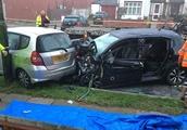 Police chase crash leaves elderly couple dead in London