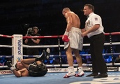 Chris Eubank comes of age, drops and defeats James Degale