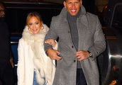 Jennifer Lopez, Alex Rodriguez, and Her Giant Engagement Ring Shared a Date Night in NYC