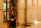 Dev Patel and Armie Hammer star in the tick-tock terror drama Hotel Mumbai: EW review