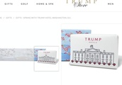 Trump profiting from presidency by selling White House-branded merchandise via his 'Trump Store'