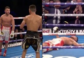 Showboating boxer gets knocked out while taunting opponent with 15 seconds to go