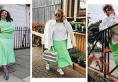 This ASOS Curve neon skirt is about to be all over your Instagram feed