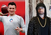 Eminem Wants Fighting in the AAF and Johnny Manziel Appears Down to Deliver