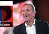 Howard Schultz mocked for 'majority of Americans are Americans' ad