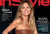 Yu Tsai for InStyle Russia with Heidi Klum