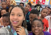 'Education is that swag!' Alabama teacher, 23, goes viral with video of her third graders singing