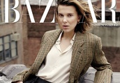 Millie Bobby Brown covers Harper's Bazaar Singapore June 2019