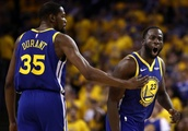 Draymond Green flies cross country to see Kevin Durant