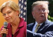 Trump's staffers are starting to worry about Elizabeth Warren: Report