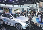 Mercedes-Benz shows first pure electric SUV