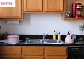 This Charming Kitchen Renovation Only Cost $200