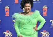 HAUTE OR NAUGHT: Lizzo Pairs A Neon Dress With Sneakers For A Conversation Starting Look We're Not