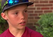 Boy, 11, bashes intruder in head with machete while home alone: 'You're better off to get a job th