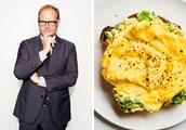 Alton Brown's Secret to Better Scrambled Eggs Might Surprise You