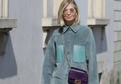 Xenia Adonts seen arriving at Fendi SS2020 Show during Milan Men's Fashion Week