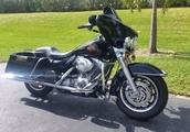 2002 Harley Davidson FLHT Electra Glide Standard