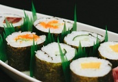 Why Take-Out Sushi Has 'Grass' in Between Pieces