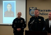 Sacramento police officer fatally shot while helping a woman retrieve her belongings from a home