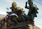 Grand Theft Auto's Being Used By Potential Area 51 Infiltrators