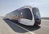 China-developed smart bus trials in Qatar