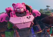Fortnite season 9 leak confirms a giant showdown between a robot bear and monster cat to set the sta