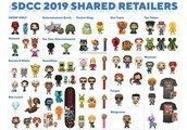 Here's Where to Get Funko's SDCC 2019 Exclusive Pop Figures Starting Tonight