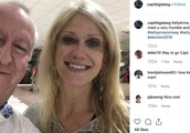 Jeffrey Epstein's pilot deletes Instagram after Kellyanne Conway pic surfaces