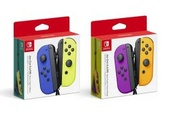 New Nintendo Switch Joy-Con colors are coming this fall: Blue/Yellow and Purple/Orange