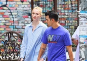 Sophie Turner puffs on the e-cigarette as she takes a walk with Joe Jonas in SoHo