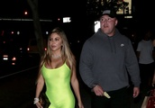 Larsa Pippen, Ex-Wife Of NBA Chicago Bulls Basketball Player, Scottie Pippen, Spotted Leaving Popula