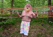 Hippies young and old keep the 'real Woodstock' flame alive