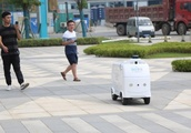 5G-assisted unmanned delivery car supports smart retail
