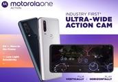 Motorola One Action rolls out with an ultra-wide action camera