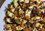 Loaded Apple Nachos [Vegan]