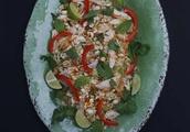 Recipe: Vietnamese Cabbage and Mint Chicken Salad