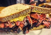The iconic Katz's Deli pastrami sandwich goes on the road thanks to Uber Eats