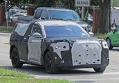 Ford Mustang-Inspired Electric SUV Spied Wearing Production Metal