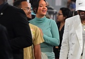 Exclusive: Rihanna Makes it a Family Affair as she is Joined by her Mom and 2 Brothers to Watch