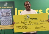 Luckiest man in New Jersey wins another lottery jackpot