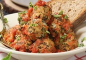 Spinach and Ricotta Meatballs Recipe
