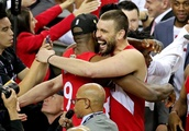 Raptors celebrate first championship with rallying cry: 'Get you a poncho!'
