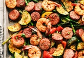 Perfect Cajun Shrimp and Sausage Vegetable Sheet Pan Recipe
